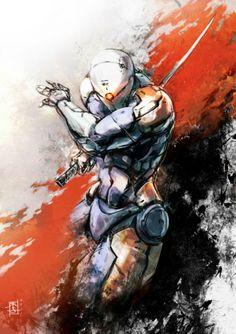Impresionantes ilustraciones de Metal Gear Solid - Juegomania