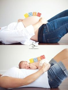 pregnancy picture before and after