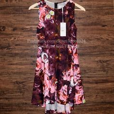 FREE PEOPLE Mini Dress Patterned Bohemian Classic Size XS. New with tags. $280 Retail + Tax.   • Have all eyes on you in this gorgeous fit n flare dress. • Features an all-over floral print with hidden back zip closure and subtle high-low hem. • Semi-stretchy & perfect for dressing up or down. • By Shakuhachi for Free People. • Measurements in comment(s) below.  {Southern Girl Fashion - Closet Policy}   ✔️ Same-Business-Day Shipping (10am CT). ✔️ Reasonable best offer considered when…
