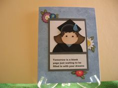 blank page graduation card by graffiti - Cards and Paper Crafts at Splitcoaststampers