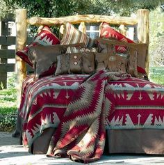 Shop for rustic bedding, lodge comforters, berry bedding and cabin creek home bedding, from Silverado and Wooded River.