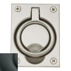 Baldwin Ring Pull | Wayfair Brass Metal, Solid Brass, Baldwin Door Hardware, Door Accessories, Brass Material, Oil Rubbed Bronze, Polished Nickel, Types Of Metal, Rings