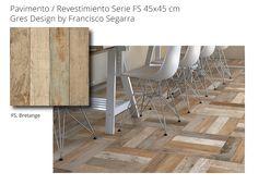 Pavimento hidraulico imitación madera recuperada Bretange de Peronda