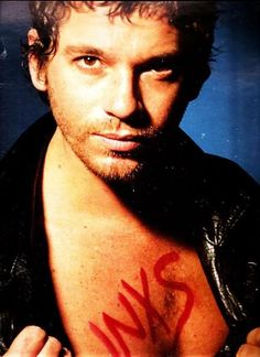 Michael Hutchence of INXS R.I.P.