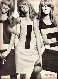 julie christie. vogue february 1966