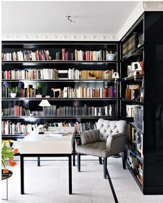 20 Design Ideas for Your Home Library | Top Design Magazine - Web Design and Digital Content