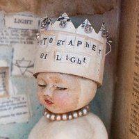 art doll created by Robin Law (Terri Brush teacher)