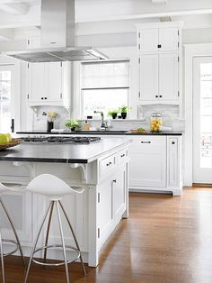 Sky-High Storage In this 1920s home, a kitchen remodel was necessary to make the…