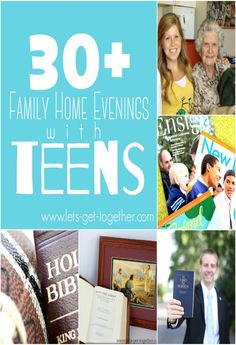 30 Family Home Evenings with Teens