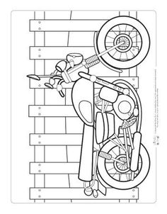 61 ideas motorcycle party adult coloring pages