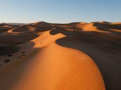 Desierto de Gobi. Se encuentra en el noreste de China y sureste de Mongolia y se le considera una de las zonas desérticas más grandes e importantes del mundo. Aquí viven muchos grupos nómadas (Gobi significa desierto en mongol). Foto: Getty Images