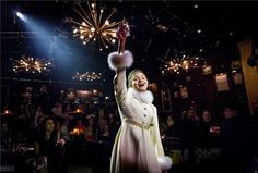 Hottest Tolstoy Heroine Who Is Trying to Figure It All Out While Wearing An Amazing Coat: Phillipa Soo (Natasha, Natasha, Pierre, and the Great Comet of 1812)