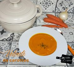Un délicieux velouté de carottes du jardin ! Miam