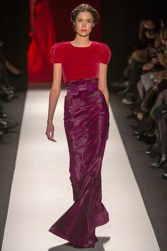 Carolina Herrera #nyfw fashion weeks, 2013 readytowear, 2013 rtw, herrera fall, dress, runway, carolina herrera, fall 2013, carolinaherrera