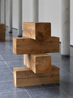 Carl Andre, Stile (Element Series), New York 1960 (proposed) / New York 1975 (made).