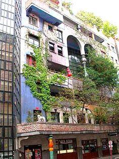 De fantastische architectuur van Friedrich Hundertwasser