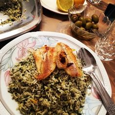 Sabzi polo ba mahi | 21 Dishes You Need To Learn To Cook Before Persian New Year. It's already past Nowruz but it's still a great list of dishes!
