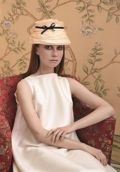 The Tea Party, Couture Hat by Prudence Millinery for Lock Couture SS2018 Collection