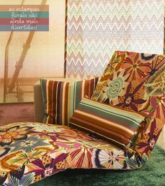 floral patterns by Missoni Home