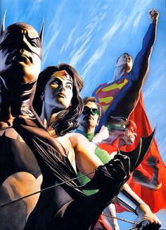 Justice League-Alex Ross