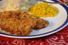 Venison Backstrap--chicken fried steak