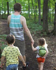 Promenade en famille  #shinrinyoku #quebec #dadlife #nossoirsdete