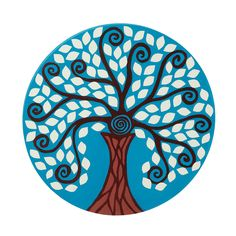 Uncommon Goods: Wall art made of reclaimed wood, hand-painted Tree of Life, and glow-in-the-dark! miUSA #uncommon #contest