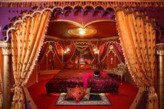 Victoria Court Hillcrest Boutique Motel in Marikina, Manila, Philippines - Moulin Rouge Suite - ethnic bedroom