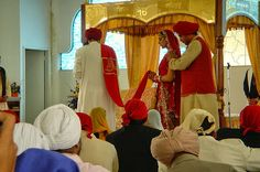 """They are not said to be husband and wife who merely sit together. Rather they alone are called husband and wife, who have one soul in two bodies.""  Guru Amar Das Ji, Pauri, pg. 788"