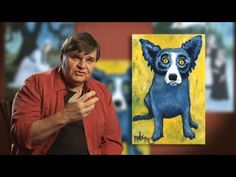 Kim & Karen: 2 Soul Sisters (Art Education Blog): Blue Dog and a Not So Blue Teacher!