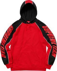 da338dcef312f Supreme Patchwork Hooded Sweatshirt Sweater Hoodie, Red Hoodie, Hooded  Sweatshirts, Hoodies, General