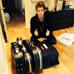 #imagine   Luke: all packed up! Can't wait to see you babe! Be home soon!