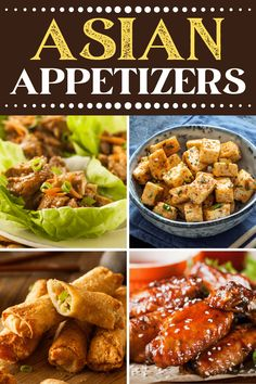 Asian Appetizers, Easy Appetizer Recipes, Easy Recipes, Milk Recipes, Copycat Recipes, Snack Recipes, Asian Recipes, Asian Foods, Asian Salads