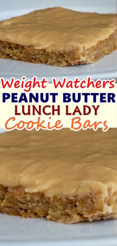 These are the best peanut butter bars I've ever tasted and they are perfect for feeding a crowd! I usually have all the ingredients on hand so if I ever need to make a treat at the last minute, these are my go-to!  #peanut_butter_lunch_lady_cookie_bars #Skinnyrecipes #skinny #weightwatchers #weightwatchersrecipes #weight_watchers #desserts #food #skinnydesserts #cookie_bars #bars #WWrecipes #healthyrecipes #cookie #recipes #kidsfood #cookiebars #homemade #lowcarb #ketorecipes #healthy #eating