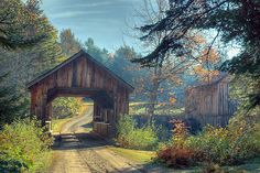 + country covered bridge