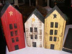Little primitive house set