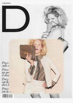de couture on D repubblica Italy