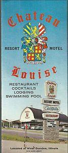 Image is loading Chateau-Louise-Resort-Motel-Restaurant-West-Dundee-Illinois