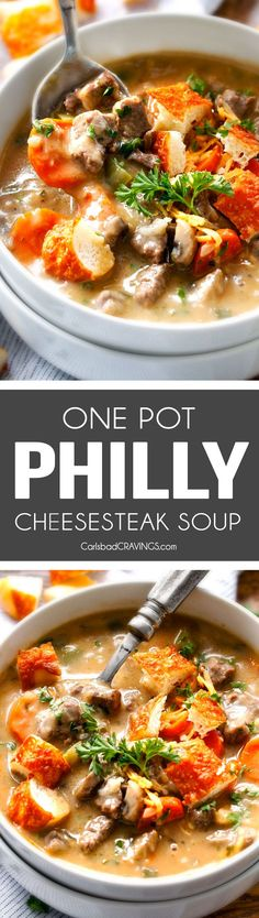 ONE POT Philly Chees