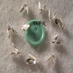 Silver Leaf Bail Pendant DIY Wholesale Jewelry by dragonflyridge, $3.00