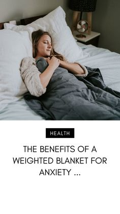 Wondering about the benefits of a weighted blanket? A weighted blanket offers pressure and sensory input to people with restlessness,… Weighted Blanket For Anxiety, Best Weighted Blanket, Are You The One, Are You Happy, Gravity Blanket, Benefits Of Sleep, Psychology Disorders, Heavy Blanket, Girls Rules