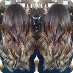 Obsessed with the balayage technique! I definitely want to try balayage! Hair Color And Cut, Ombre Hair Color, Blonde Ombre, Ash Blonde, 2015 Hairstyles, Pretty Hairstyles, Amazing Hairstyles, Hair Inspo, Hair Inspiration