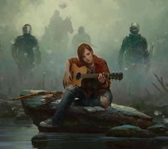 Ellie and Guitar