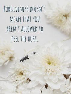 Forgiveness hurt