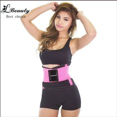 ccd0533018 wholesale Neoprene Waist Slimming Sports Belt Waist Trimmer Exercise Belt  Burn Fat Sauna Sweat Loss Weight Sport Girdle For Men Women