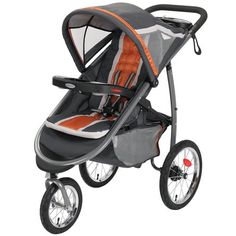 Graco FastAction Fold Jogger Click Connect Stroller Tangerine ** Want additional info? Click on the image.