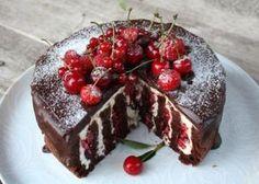 Sweet Desserts, Sweet Recipes, Cake Recipes, Dessert Recipes, Good Food, Yummy Food, Czech Recipes, Chocolate Delight, Croatian Recipes