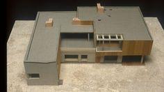 Model : Aalto House, Helsinki Finland (1935-36)   Alvar Aalto