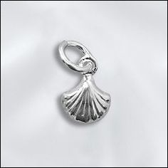 SS/CR5/SH | Sterling Silver Mini Charm - Shell