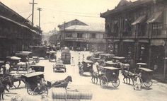 Near the banking and shipping district of Manila (ctto) Manila, Treaty Of Paris, President Of The Philippines, The Spanish American War, Philippines Culture, Back In Time, Photo Essay, Old Photos, Old Things